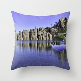 Sylvan Lake Magic Sphere Throw Pillow