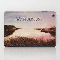 wanderlust iPad Cases featuring Wanderlust by Brianne Lanigan