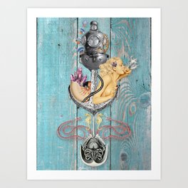 The Salty Brine Art Print