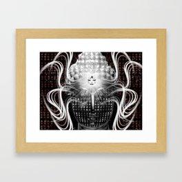 Buddha Psych Framed Art Print