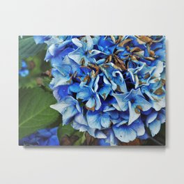 Bundles of Blue Metal Print