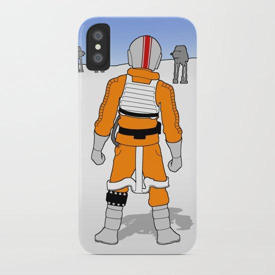 Rebel Pilot iPhone Case