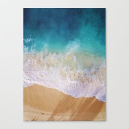 Sea love Canvas Print