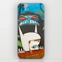 Max and His Wolf Suit iPhone Skin