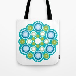 Mandala lots flower Tote Bag
