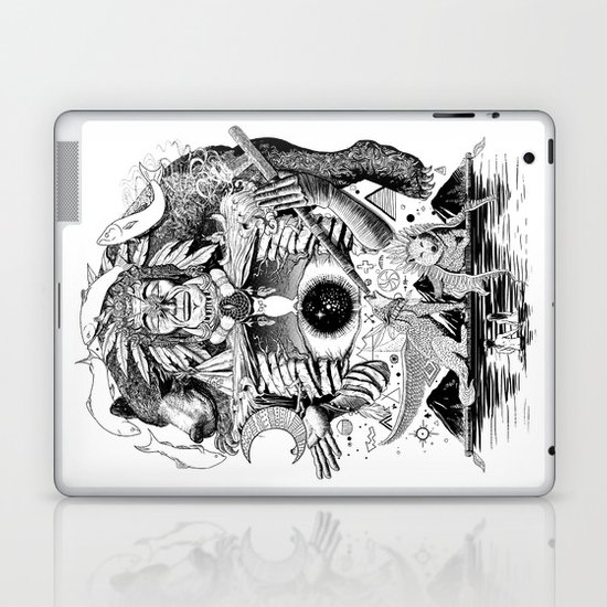 Dream Pipe Laptop & iPad Skin
