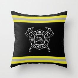 Firefighter Home Throw Pillow