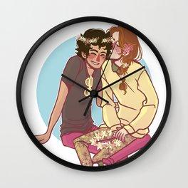 barricade darlings Wall Clock