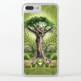 Tree Psyde 2019 - Green Clear iPhone Case
