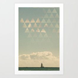 The_Sea Art Print