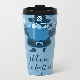 Pirate Metal Travel Mug