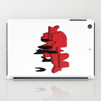 japan iPad Cases featuring JAPAN by Joe Pansa