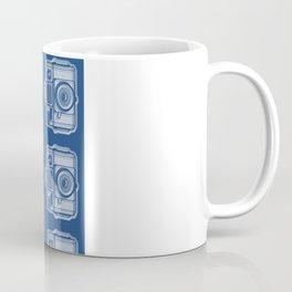 I Still Shoot Film Holga Logo - Reversed Blue Coffee Mug