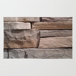 Artisan Masonry Stone House Front Detail 001 Rug