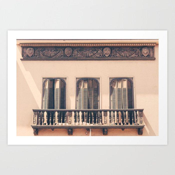 French Windows Kunstdrucke