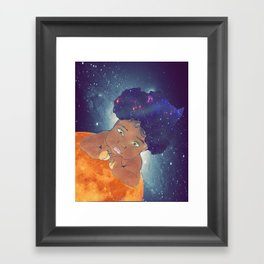 Born To Be Great Framed Art Print