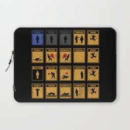 Friday I'm In Love! Laptop Sleeve