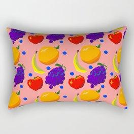 So Much Fruit Rectangular Pillow
