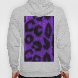 Spotted Leopard Purple Hoody