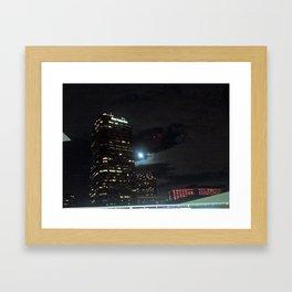 CENTURY CITY BY NIGHT Framed Art Print