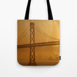 Stunning California Golden Sunrise Tote Bag