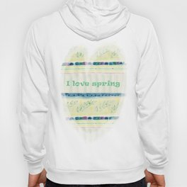 Inspired by spring Hoody