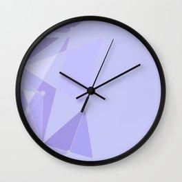 Tomorrowland Purple Wall Wall Clock