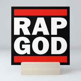 RAP GOD Mini Art Print
