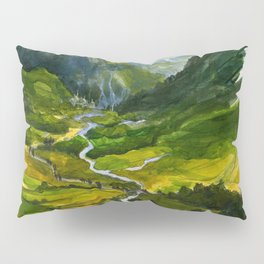 The Hidden Valley (original) Pillow Sham