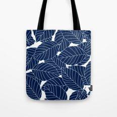 Sweet leafs:  Navy Tote Bag