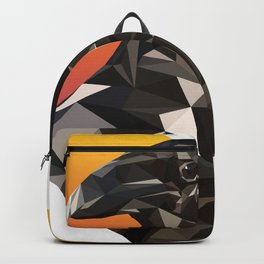 Low Poly Raven Backpack