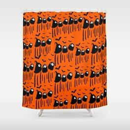 Boo Halloween Shower Curtain