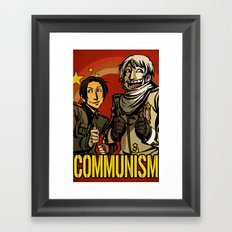 Communism! Framed Art Print