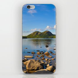 Jordan Pond In Acadia iPhone Skin