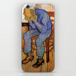 At Eternity's Gate by Vincent van Gogh iPhone Skin