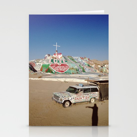 Salvation Mountain Stationery Cards