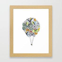 Bows & Butterflies Framed Art Print
