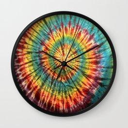 Tie Dye 19 Wall Clock