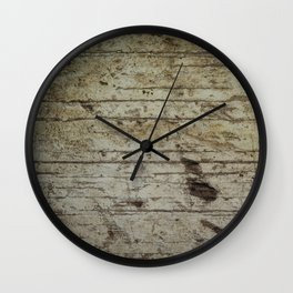 OLD RUSTIC WOOD  Wall Clock
