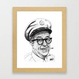 Bilko Framed Art Print