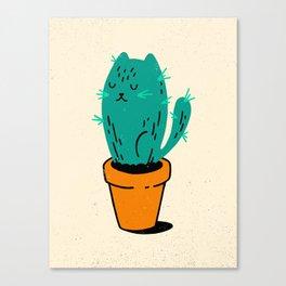 Cat-tus Canvas Print