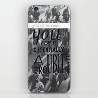 architect iPhone & iPod Skins featuring Dear Architect by Hugo Lopez