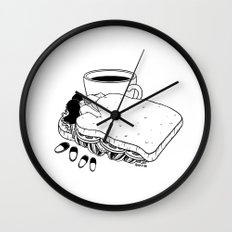 Breakfast Included Wall Clock