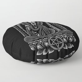 Baphomet Inner Peace Floor Pillow