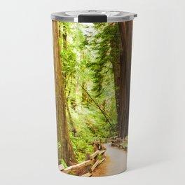 Path in Muir Woods Travel Mug