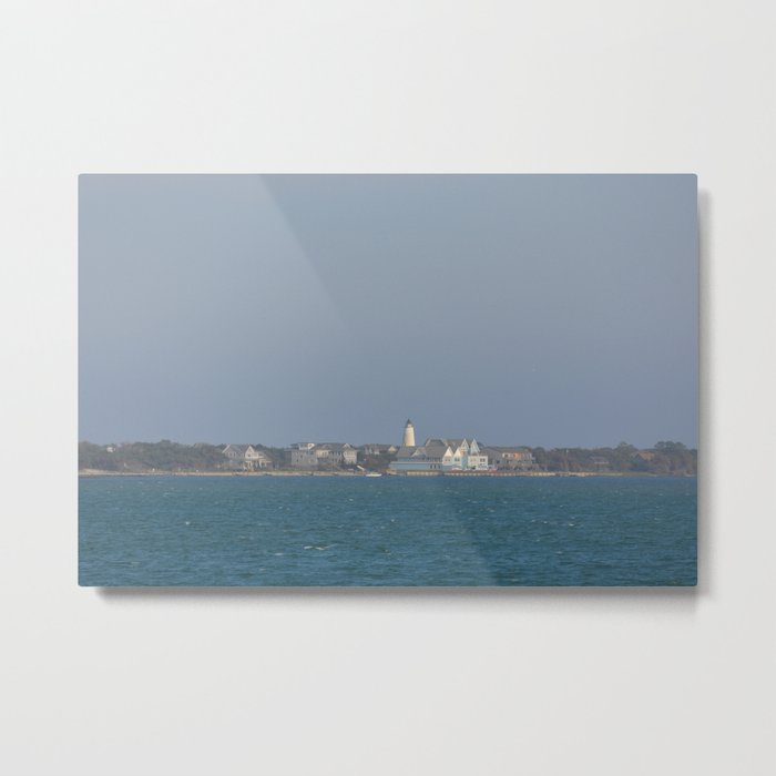 Ocracoke Island from the ferry Metal Print