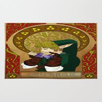 courage Area & Throw Rugs featuring COURAGE by BlackTaintedHeart