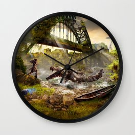 Newcastle [Horizon Zero Dawn] Wall Clock