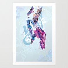 Body Canvas Art Print