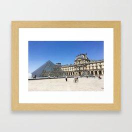 Louvre - Paris, France Framed Art Print